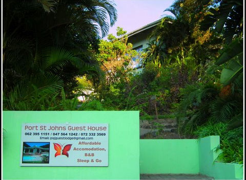 Photo of Entrance to Port St Johns Guest House